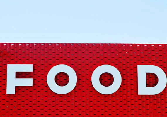 Food sign