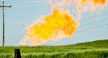 natural gas flare