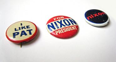 Nixon political buttons
