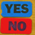 yes and no tickets