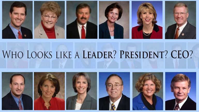 politicians' faces