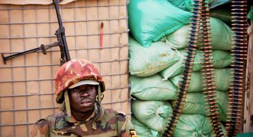 man in Ugandan military