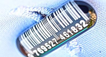 barcode cufflink