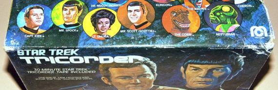 vintage box for a Star Trek tricorder toy