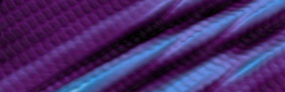 purple boron sheet with crinkles