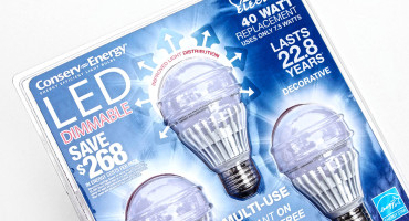 pack of LED bulbs