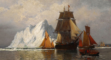 william bradford whaling painting