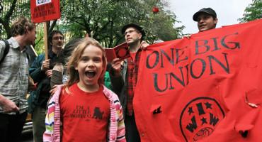 IWW protest