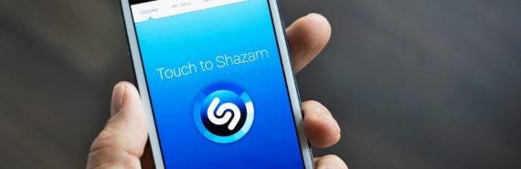 shazam app on phone