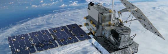 satellite orbits Earth