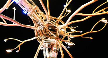 neuron scultpure