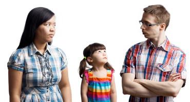 odd family portrait
