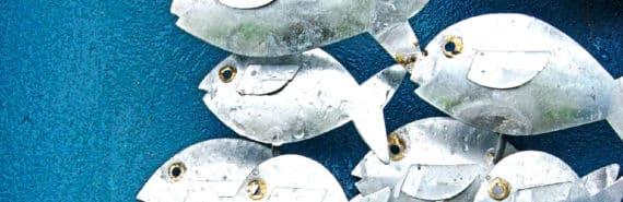 fish sculpture