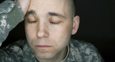 thinking soldier