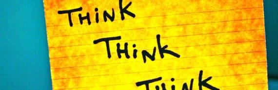 think think think card