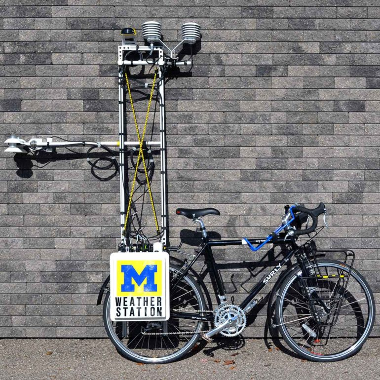 weather-station bike