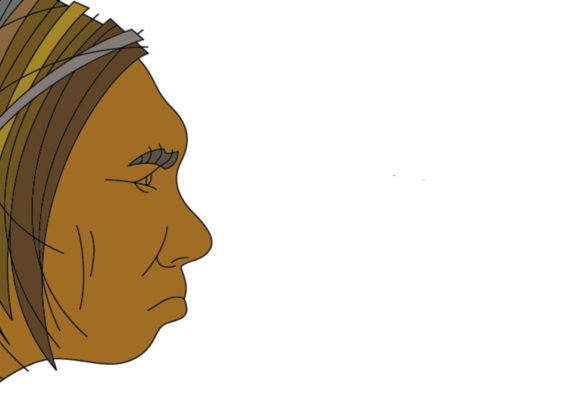 illustration of a Neanderthal