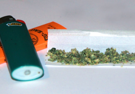 """Not as many people are smoking marijuana as previously believed, but the discrepancy may reflect how data was collected, says Richard Grucza. """"People may say one thing to an interviewer but something else on an anonymous computer survey, particularly when the questions deal with an illegal substance."""" (Credit: Heath Alseike/Flickr)"""