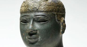 head of a Kushite ruler