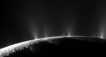 geysers on Enceladus