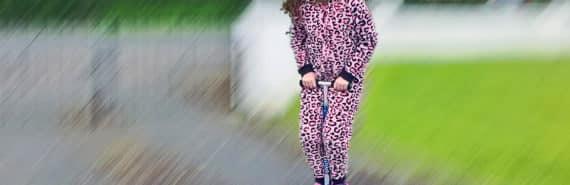 girl on a Pogo stick