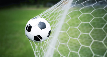 soccer net and ball
