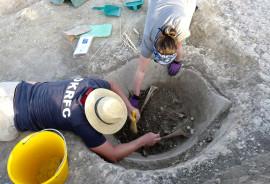 wine making artifacts in Vagnari, Italy