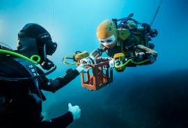 OceanOne robot diver