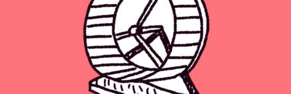 exercise wheel illustration