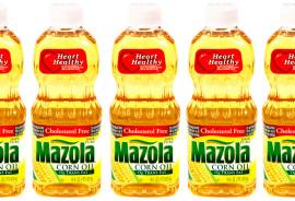 vegetable oil bottles