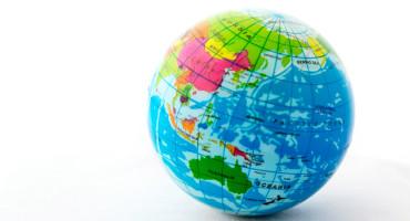 pacific side of globe - samoa
