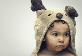 serious toddler