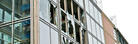 2011 Oslo explosion - windows broken