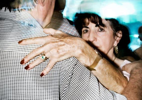 couple dances unhappily