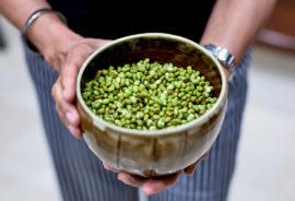 bowl of mung beans