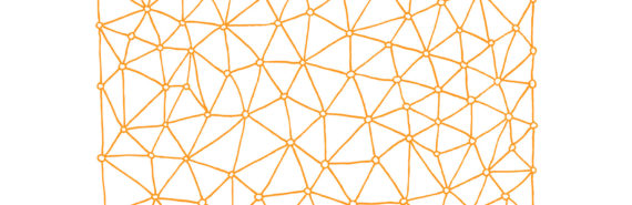 orange graph on white