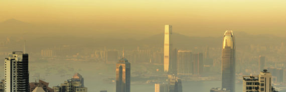 air pollution in city