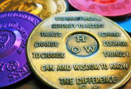serenity prayer on AA tokens