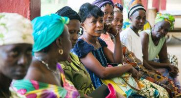 a group of women in Sierra Leone