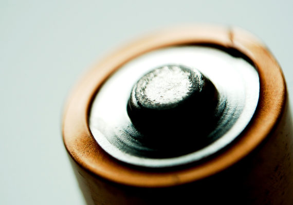 macro AA battery