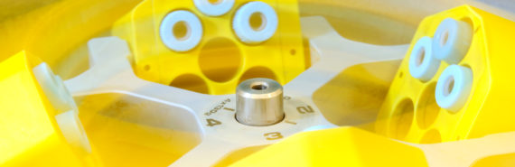 yellow centrifuge