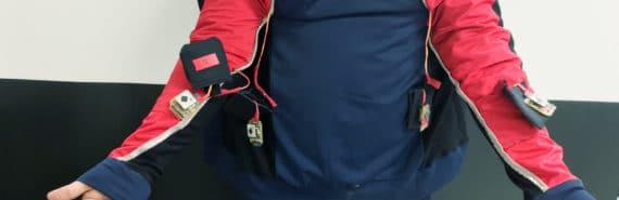 jacket with sensors