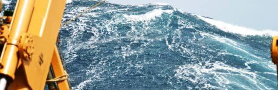 rogue wave and NOAA ship