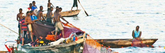 fishers on Lake Tanganyika