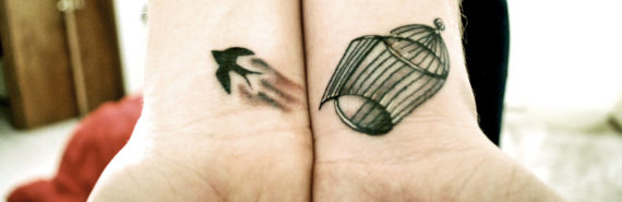 freedom wrist tattoos