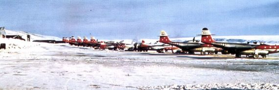 Thule air base in Greenland
