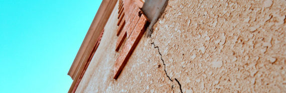 crack in building - natural disasters