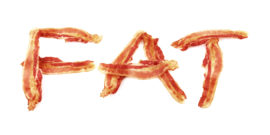 bacon spells FAT