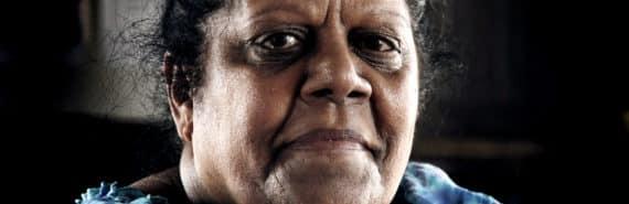 portrait of indigenous australian woman