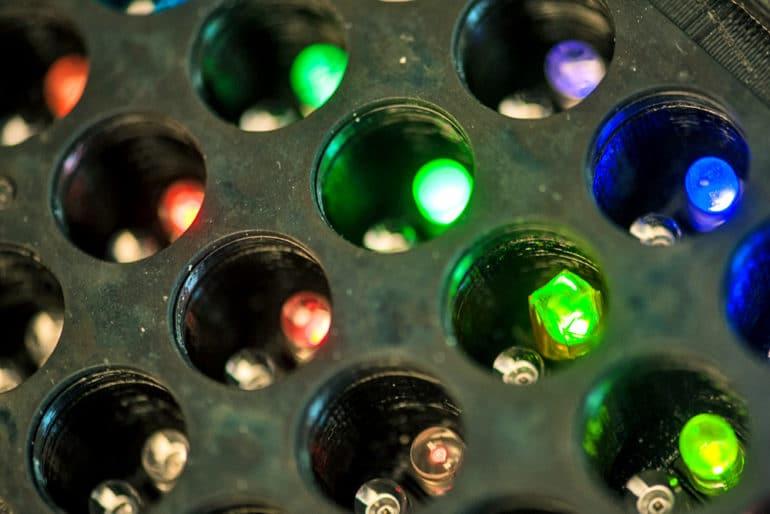 light plate apparatus detail